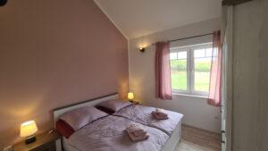 Schlafzimmer Ferienhaus-am-Fliegerpark Wohnung 2 in Stölln
